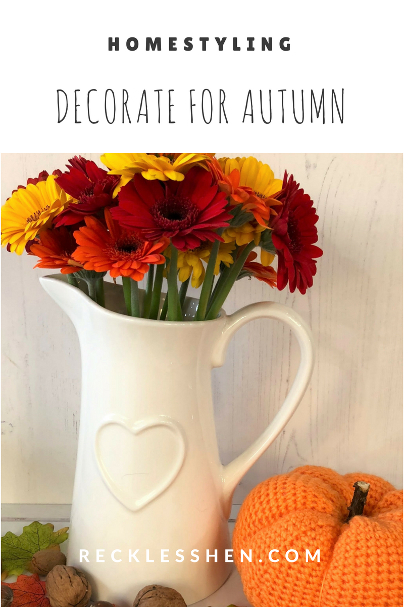Decorate your home for Autumn with RecklessHen