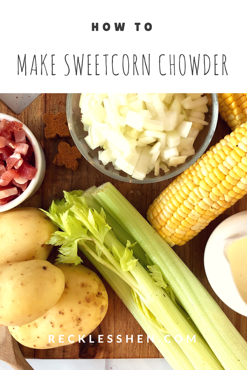 how to make Sweetcorn Chowder