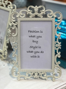 Fashion is........